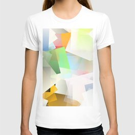 Cubism Abstract 188 T-shirt