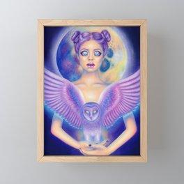 Satellite Framed Mini Art Print