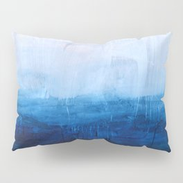 All good things are wild and free - Ocean Ombre Painting Pillow Sham
