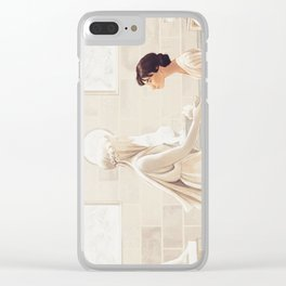 Pride and Prejudice Clear iPhone Case