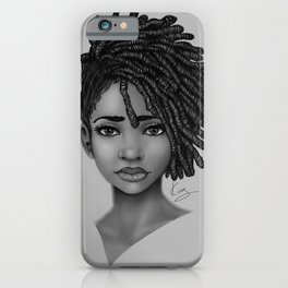 Locs style iPhone Case