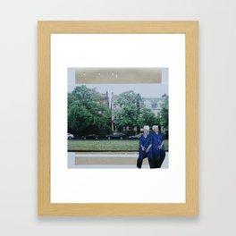 Laverne and Shirley Framed Art Print