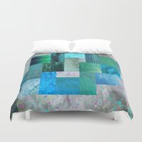 blues Duvet Covers featuring blues by Last Call