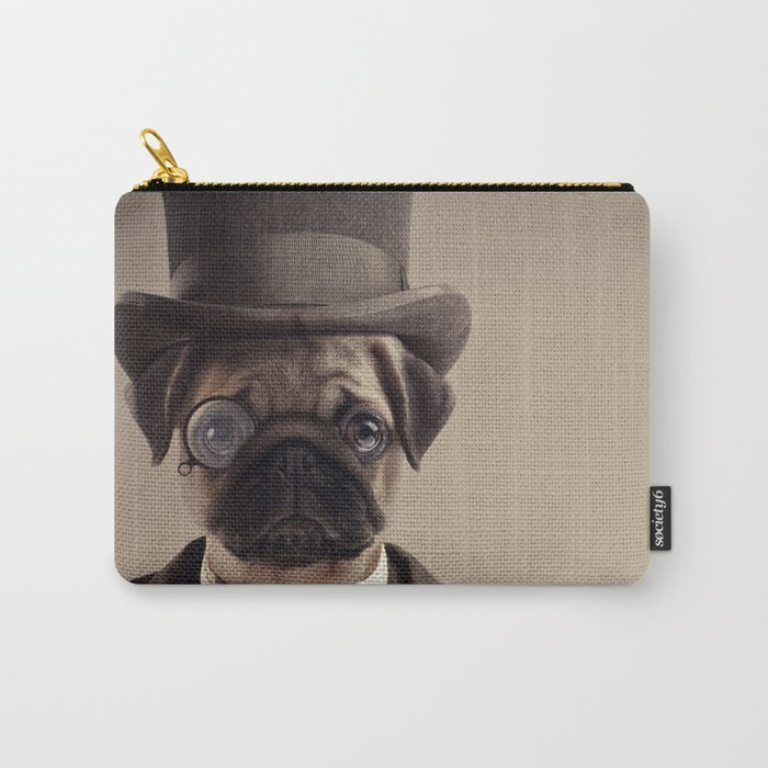 (Very) Distinguished Dog Carry-All Pouch