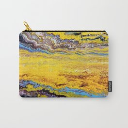 African landscape, acrylic on canvas Carry-All Pouch