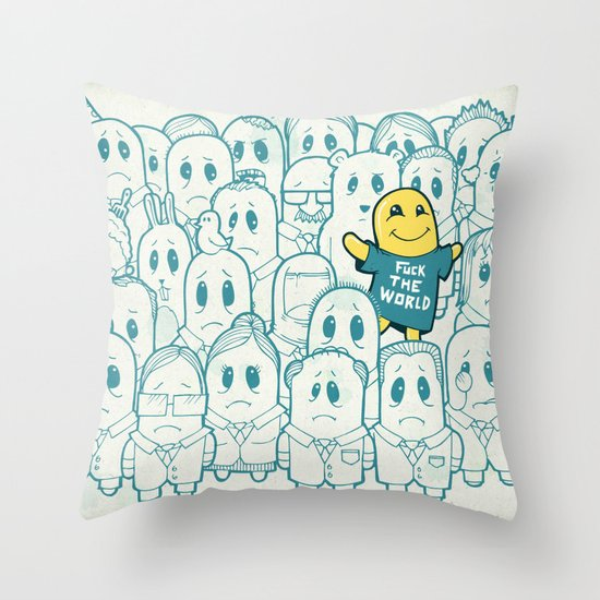 Shining In Shadows Throw Pillow