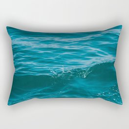 Lake Michigan Waves Rectangular Pillow