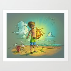 It's My Sun! Art Print