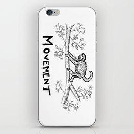 Movement Monkey iPhone Skin