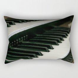 Harpsichord Keyboard Rectangular Pillow