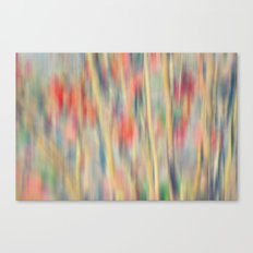 Spring Fling -- Abstract Floral Canvas Print