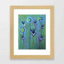 Blue Jolt Framed Art Print