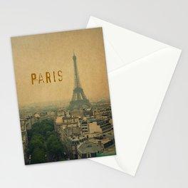 Paris, je t'aime... Stationery Cards