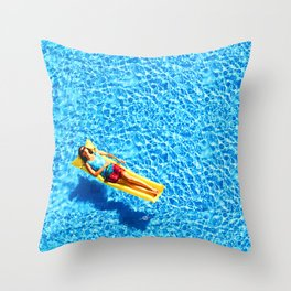 What The Summer Sun Sees 1 Throw Pillow