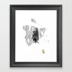 Leaf it Framed Art Print