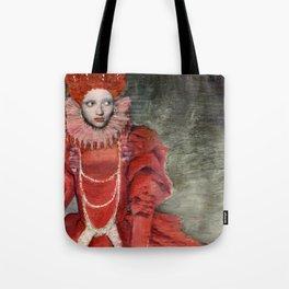 Queen Elisabeth/Newspaper Serie Tote Bag