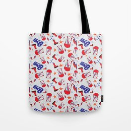 Bowie Repeat Pattern Tote Bag