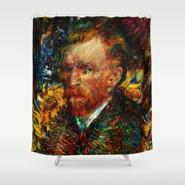 vincent van gogh Shower Curtain