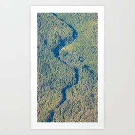 Shadow Creek Art Print