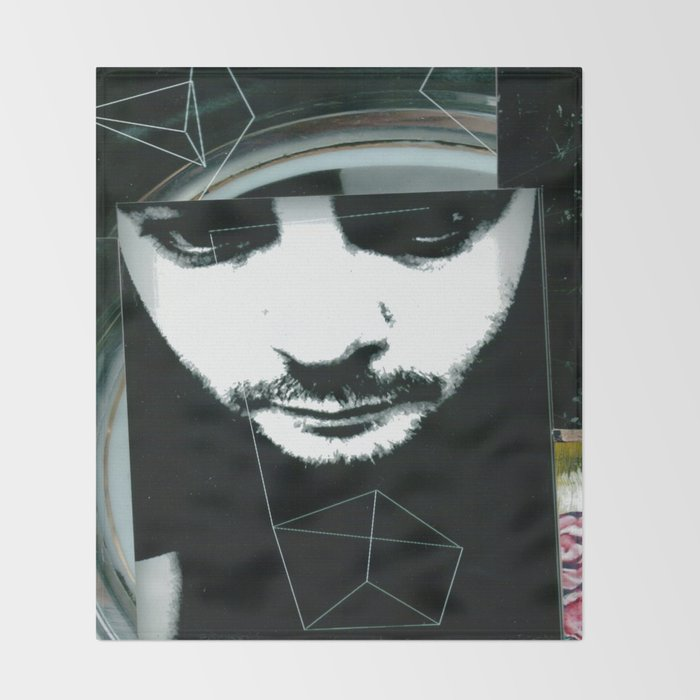 The Stare Throw Blanket