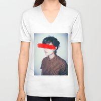anonymous V-neck T-shirts featuring Anonymous. by James Drysdale Photography