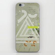 Coordinates iPhone & iPod Skin