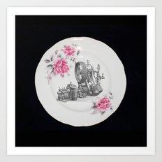 Steamplate Art Print