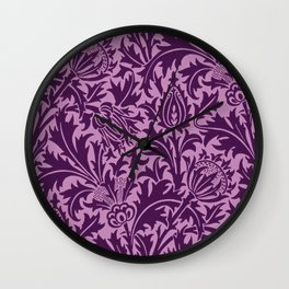 """William Morris """"Thistle"""" 6. Wall Clock"""