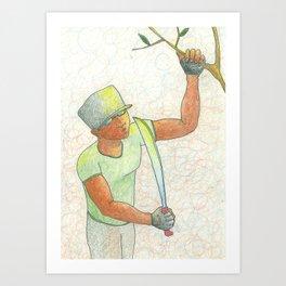 Cope (Machete) Art Print