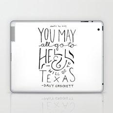 I will go to Texas Laptop & iPad Skin