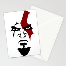Kratos Face Stationery Cards