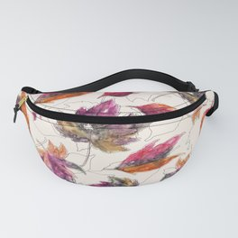 Maple Pattern Fanny Pack