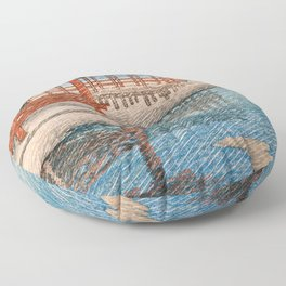 Travel Souvenir Second Collection, Miyajima, Snow Of Fine Weather - Digital Remastered Edition Floor Pillow