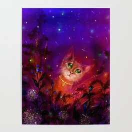 Night Cat 1 Poster