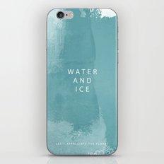 water and ice iPhone & iPod Skin
