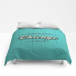 Vintage Chicago Comforters