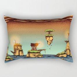 The little islands Rectangular Pillow