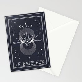 The Magician or Le Bateleur Tarot Stationery Cards