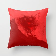 SURFING THE RED SEA Throw Pillow