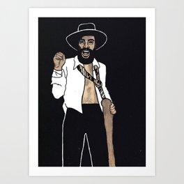 "SOULANAUTS:  ""GEORGE CLINTON OF PARLIAMENT/FUNKADELIC"" Art Print"