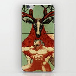 Arrow in the Neck iPhone Skin
