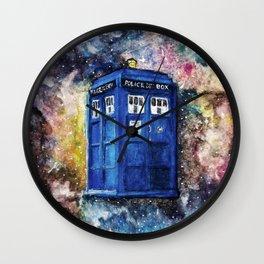 T.A.R.D.I.S. Wall Clock