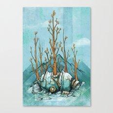 Nature Wins.01 Canvas Print