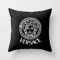 versace Throw Pillows featuring Versace by I Love Decor