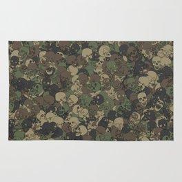 Skull camouflage Rug