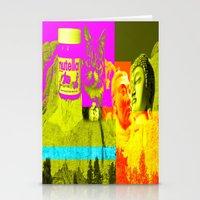 rushmore Stationery Cards featuring Mountain Rushmore  by Latidra Washington
