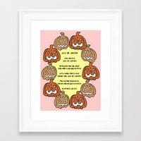 poem Framed Art Prints featuring Poem by Sky Nash