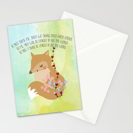 Tamed Fox Little Prince Stationery Cards