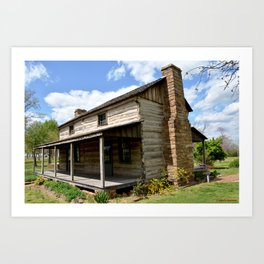 Prairie Grove Battlefield - The Latta Homestead, Established in 1834, No. 1 of 5 Art Print
