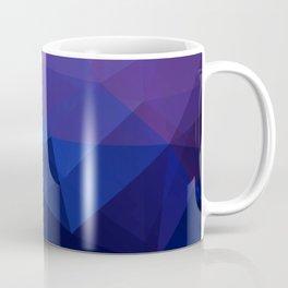 Blue abstract background Coffee Mug